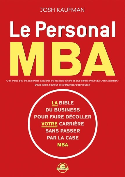 The personal mba en version Française