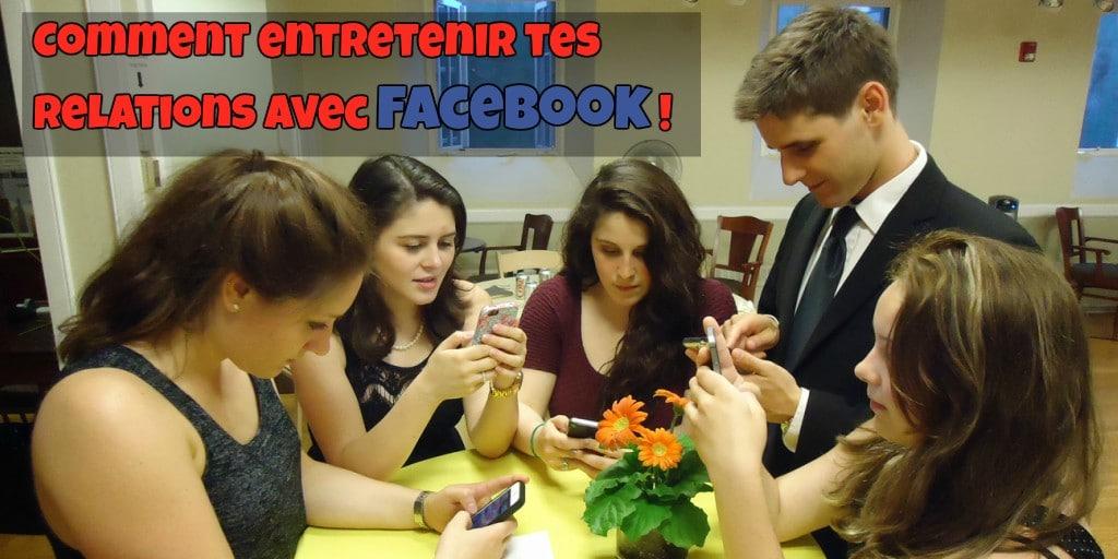 La relation sociale vu par Facebook