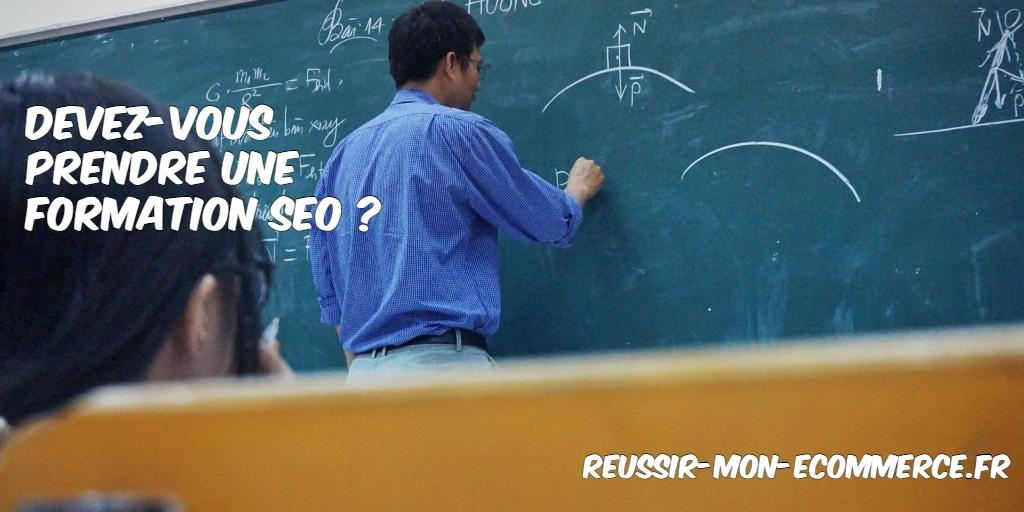 Devez-vous suivre une formation SEO ?