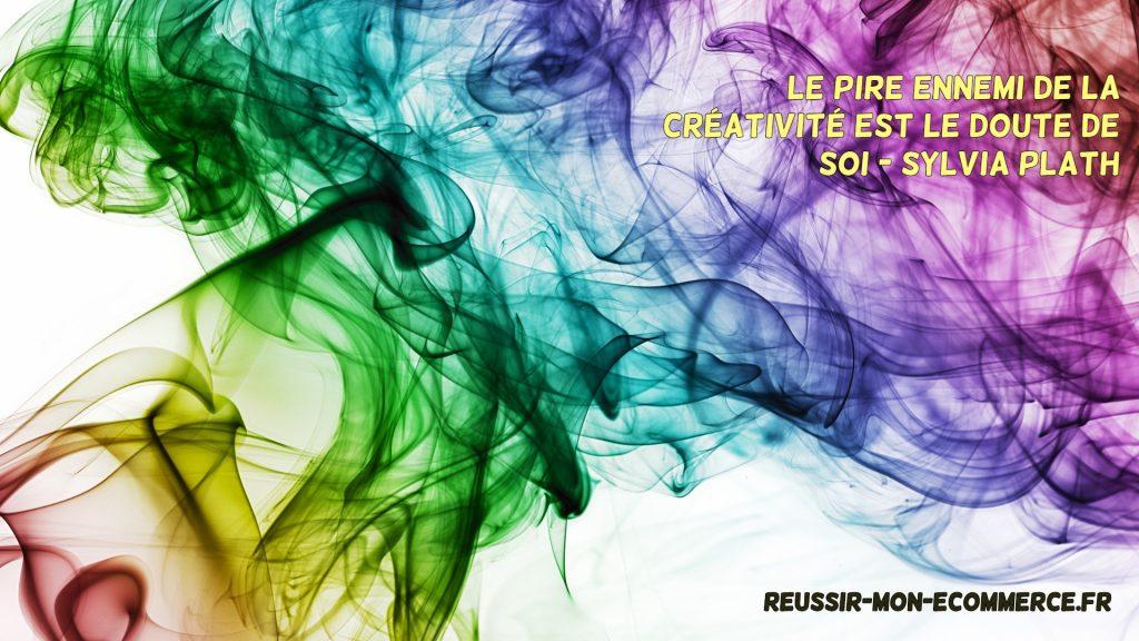 Le pire ennemi de la créativité est le doute de soi.