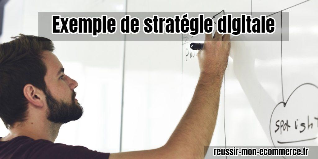 Exemple de stratégie digitale