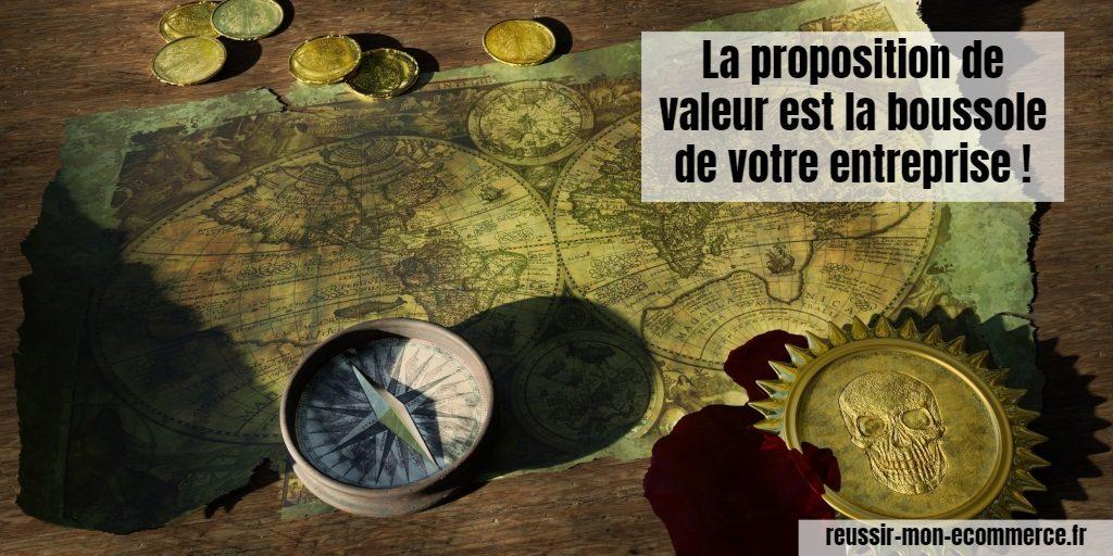La proposition de valeur est la boussole de votre entreprise !