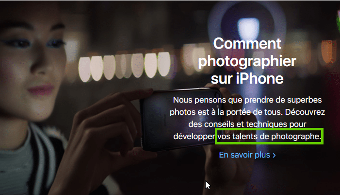 Comment Apple flatte l'ego de ses clients.