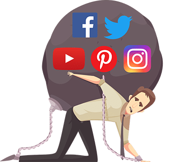 Ne dépendez pas des réseaux sociaux