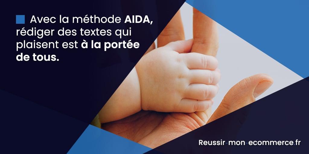 Avec la méthode AIDA, rédiger des textes qui plaisent est à la portée de tous.