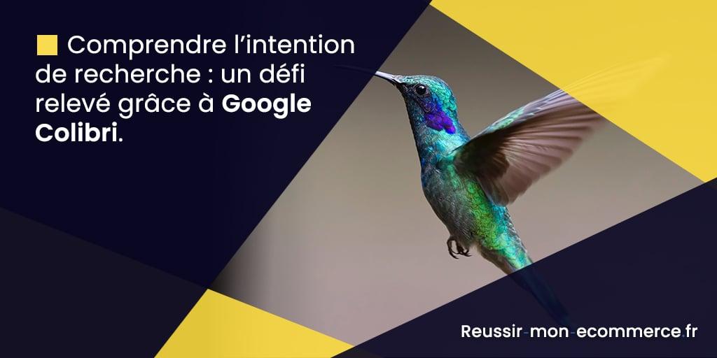 Comprendre l'intention de recherche : un défi relevé grâce à Google Colibri.