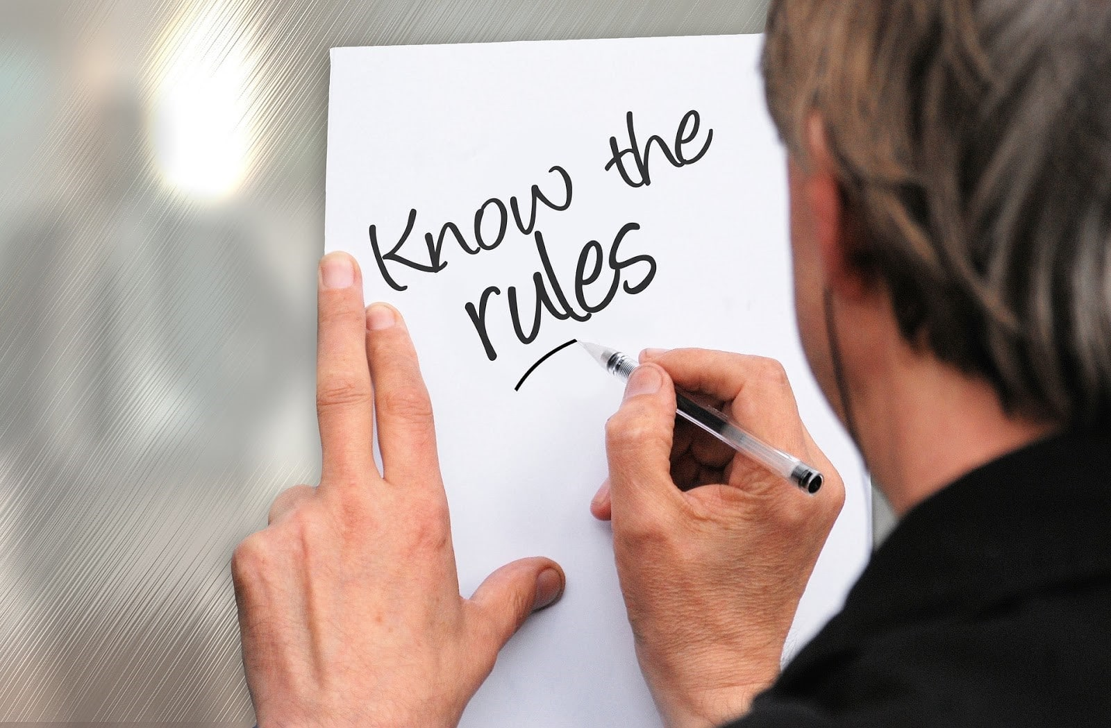 know the rules